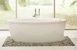 Acyline Immersion Island Freestanding Island Bath Tub