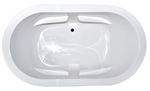 Hydro Massage Zen Oval 7242SD