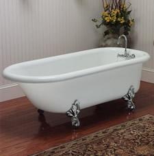 Restoria Bathtub Company Acrylic Clawfoot Tubs